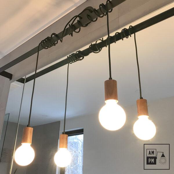 luminaire-barre-acier-couvert-bois-noyer-noir-A3M42-1