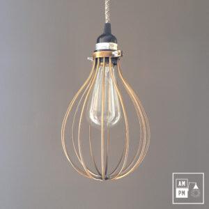 lampe-suspendue-cage-metallique-cuivrée-A3S33