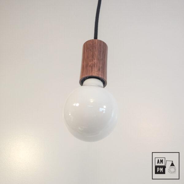 lampe-suspendue-minimaliste-bois-noyer-noir-A3S07-1