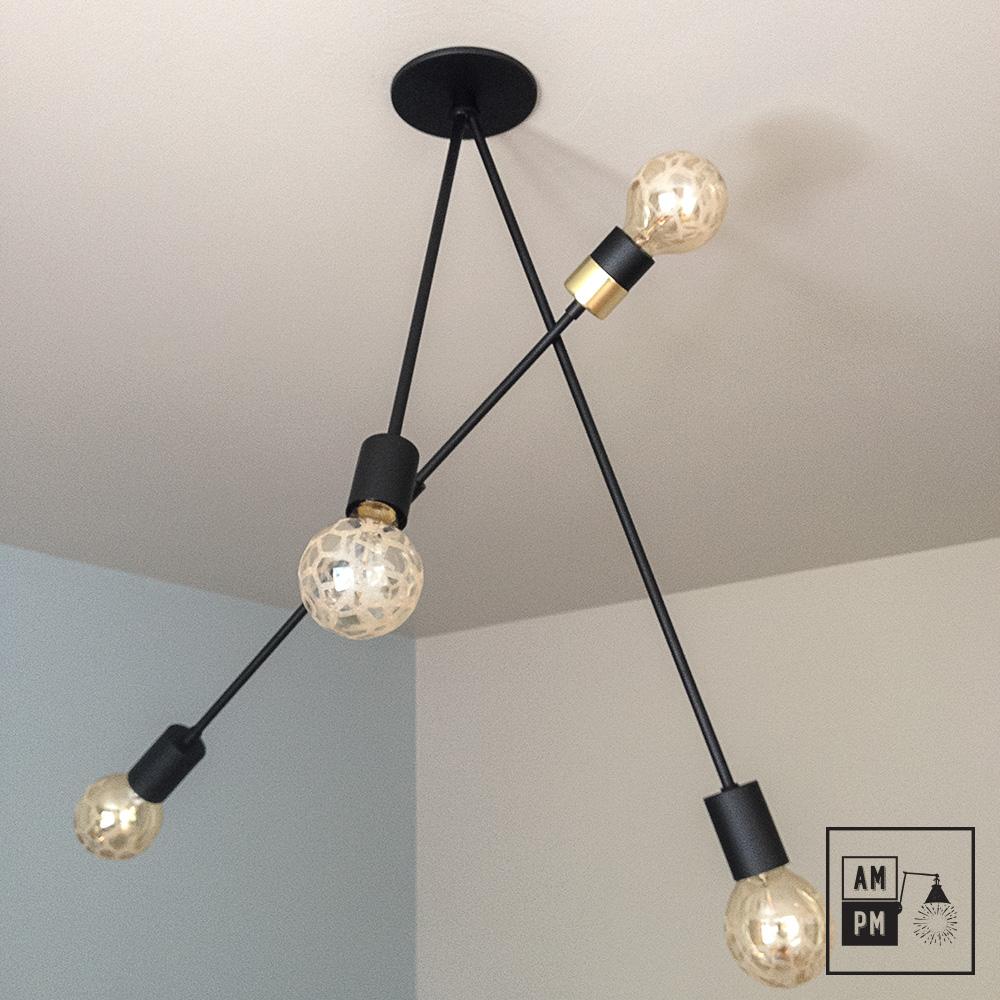 luminaire moderne sur tiges articul es architecte a3c19 am pm. Black Bedroom Furniture Sets. Home Design Ideas