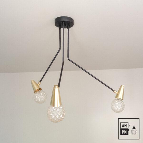 luminaire-sur-tiges-sprained-ankle-noir-laiton-A3C18-1