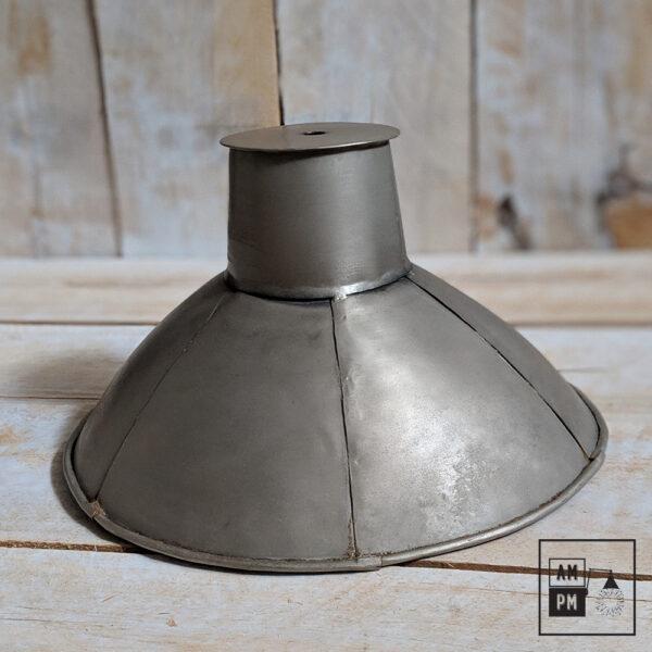 Abat-jour-rustique-naïf-hexagonal-nickel-antique-5