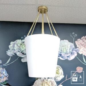 luminaire-plafonnier-moderne-tissus-sur-tiges-laiton-A3C22