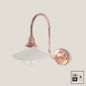lampe-ancestrale-cygne blanc-cuivre-white-swan-copper
