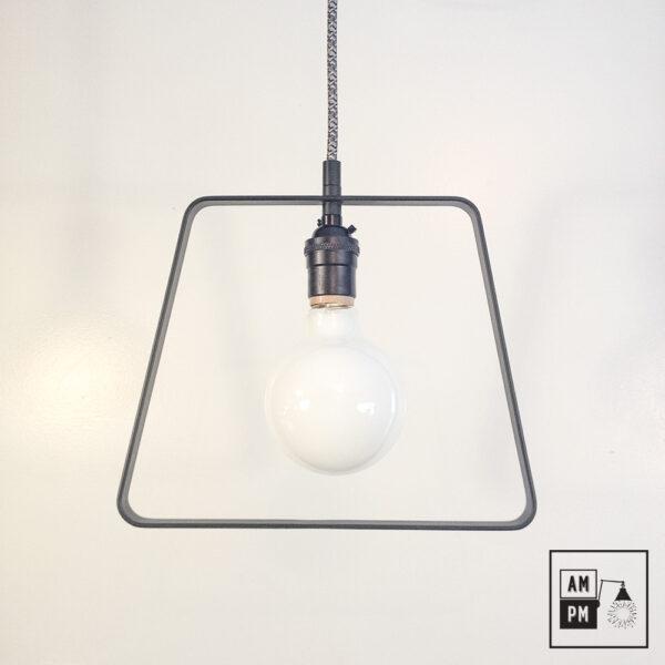 lampe-suspendue-frame-trapeze-noir