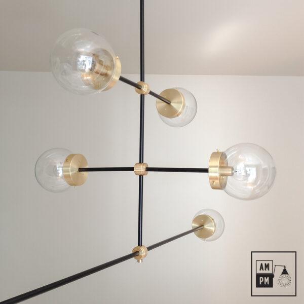 luminaire-plafonnier-moderne-sur-tiges-globes-kriss-kross-noir-laiton-A3C20-2
