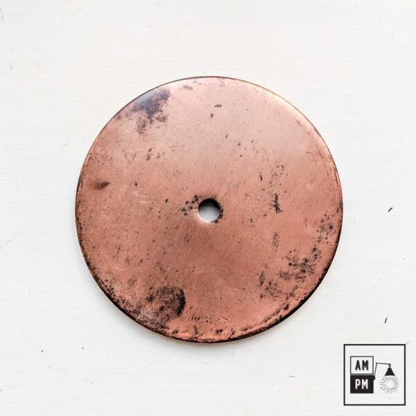plafonnier-plat-contemporain-cuivre