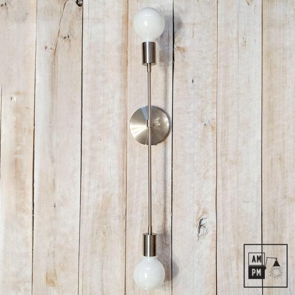 Applique-murale-minimaliste-sur-tiges-Symetrium-nickel-brosse-A4M46-1