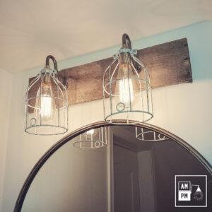 luminaire-mural-grange-cage-rustique-barnwood