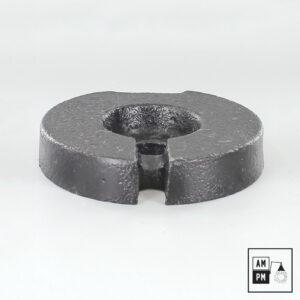 Poids-en-fonte-acier-circulaire-4-pouces