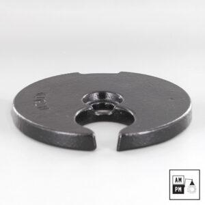 Poids-en-fonte-acier-circulaire-5-pouces