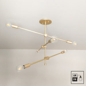 Lustre-plafonnier-Klimt-collection-mid-century-Arrows-A4K062-1