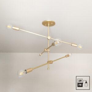 Lustre-plafonnier-Klimt-collection-mid-century-Arrows-A4K062-1