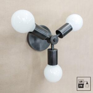 Luminaire-plafonnier-Klimt-collection-mid-century-Rotor- A4K064-acier-artistique