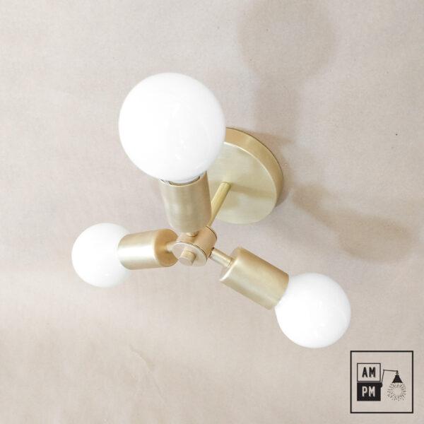 Luminaire-plafonnier-Klimt-collection-mid-century-Rotor- A4K064-lation-brosse-3