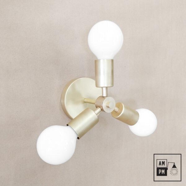 Luminaire-plafonnier-Klimt-collection-mid-century-Rotor- A4K064-lation-brosse