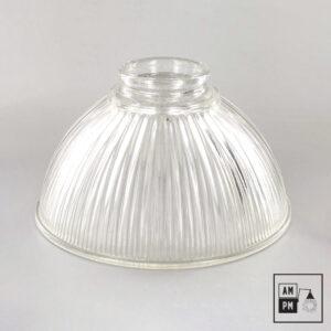 abat-jour-vintage-mini-dome-holophane-verre-clair