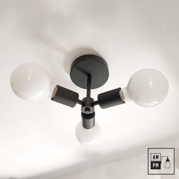 Luminaire-plafonnier-SKA-collection-mid-century-Rotor-A4K764-noir-mat-1