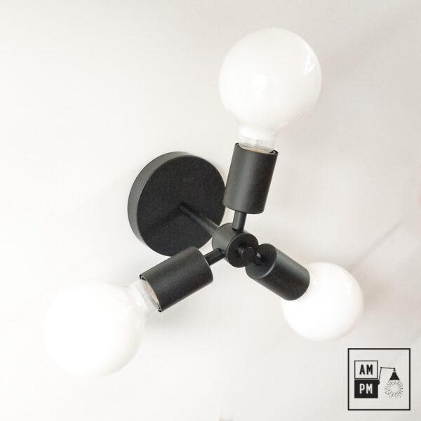 Luminaire-plafonnier-SKA-collection-mid-century-Rotor-A4K764-noir-mat-2