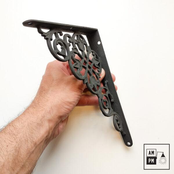 equerre-tablette-art-deco-fer-forge-noire-petite