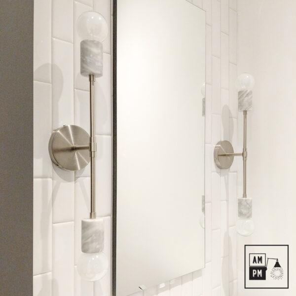 Applique-murale-en-marbre-sur-tiges-Rocher-A5M54-nickel-blanc-1
