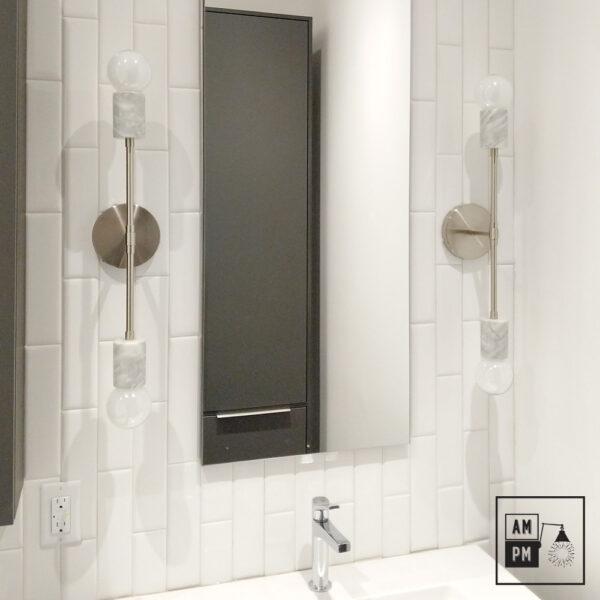 Applique-murale-en-marbre-sur-tiges-Rocher-A5M54-nickel-blanc-2